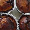 Chokladmuffins med mörk choklad